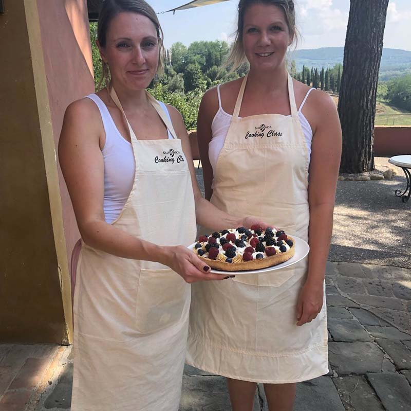 cooking class in chianti