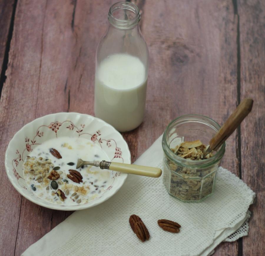 Samin Nosrat Olive Oil and Sea Salt Granola