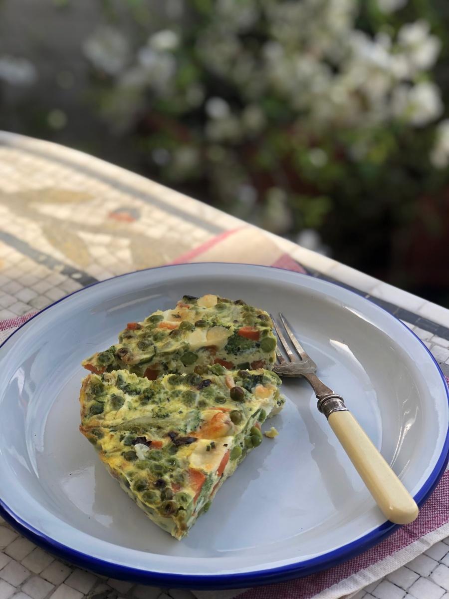 Tortino di verdure – Vegetables cake